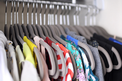 Soft hangers are stylish and soft on your clothes