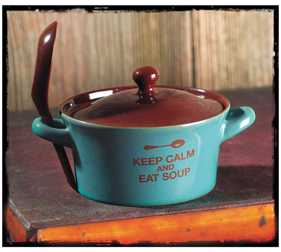 Keep Calm Soup Bowl