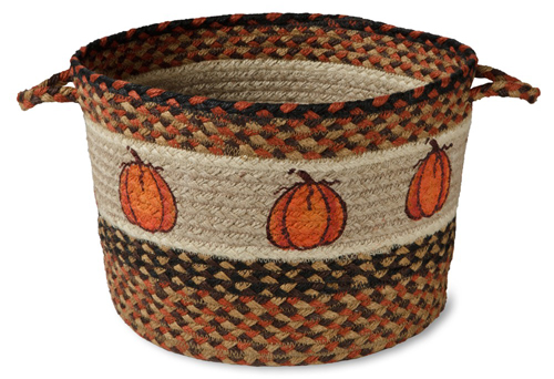Pumpkin Jute Basket