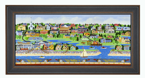 Wells Maine Coastal Print