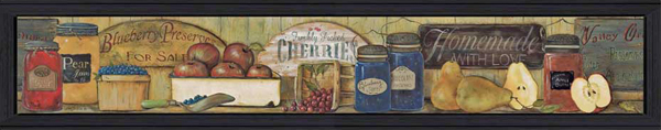 Country Kitchen Preserves Print
