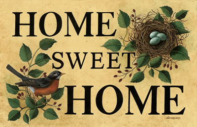 Home Sweet Home Printed Doormat