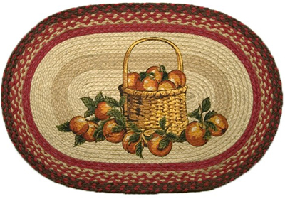 Apple Basket Rug