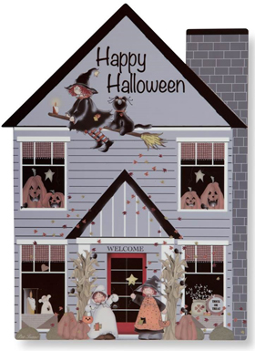 Halloween House Wall Hanging