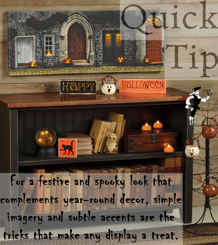Quick Tip: Incorporating Halloween Decor