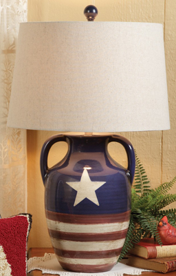 Star & Stripes Lamp