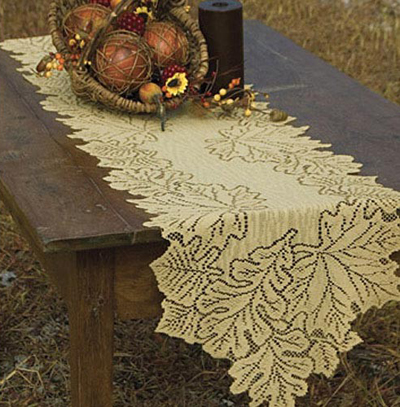 Leaf Harvest Table Runner
