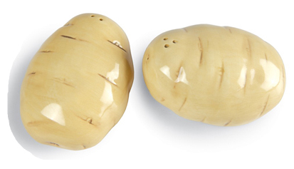 Potato Salt & Pepper Shakers