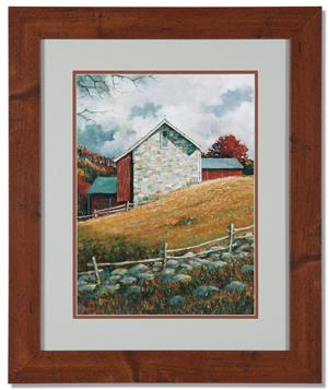 The Bank Barn Print