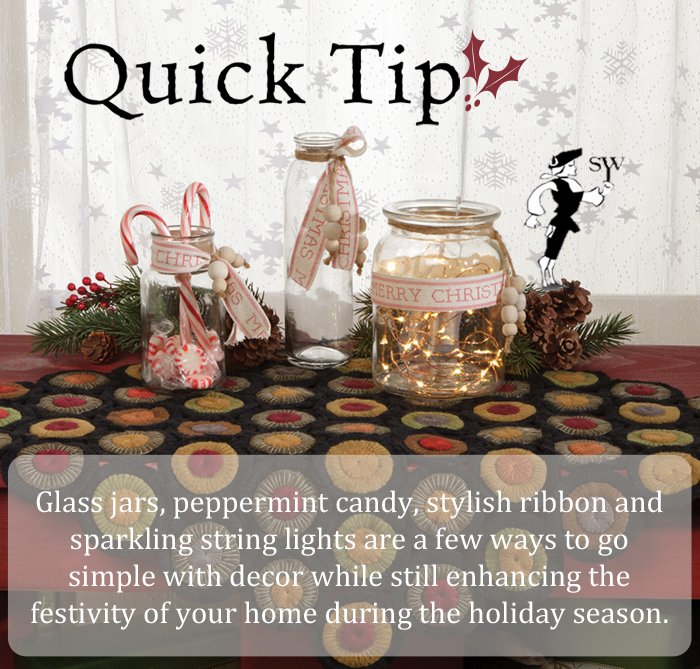 Quick Tip: Simple Holiday Decor & Style