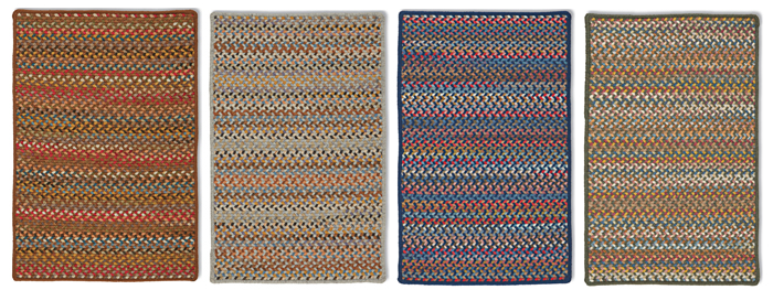 Casco Bay Wool Braided Rug Collection