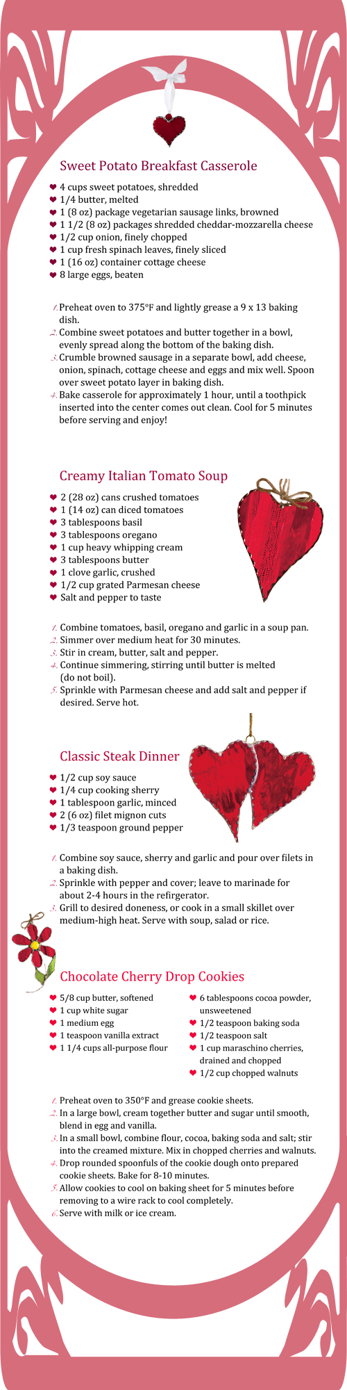Sweetheart Recipes for Valentine's Day