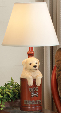 Dog Biscuits Accent Lamp
