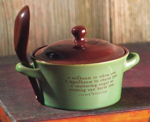 Irish Blessing Soup Bowl
