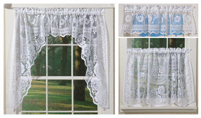 Mansfield Garden Lace Curtain Collection