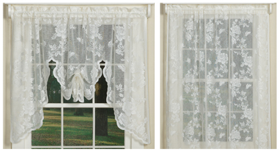 stella rose lace curtain collection