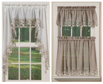 Vineyard Macrame Curtain Collection