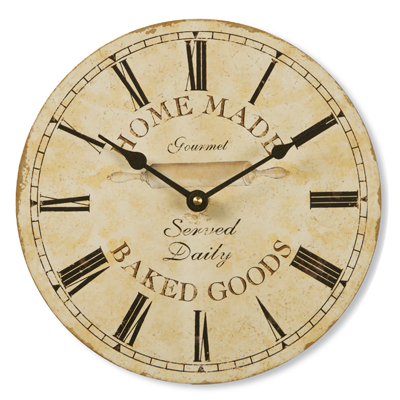 Baked Goods Clock