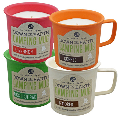 Scented Camping Mugs