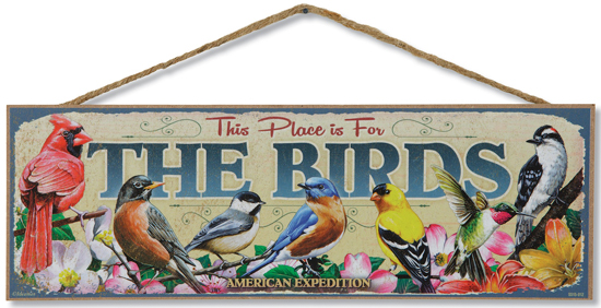 For The Birds Sign