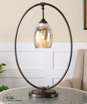 Elda Oval Table Lamp