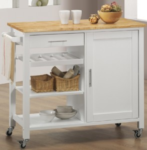 Three Shelf Kitchen Cart