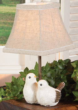 Friendly Doves Accent Lamp