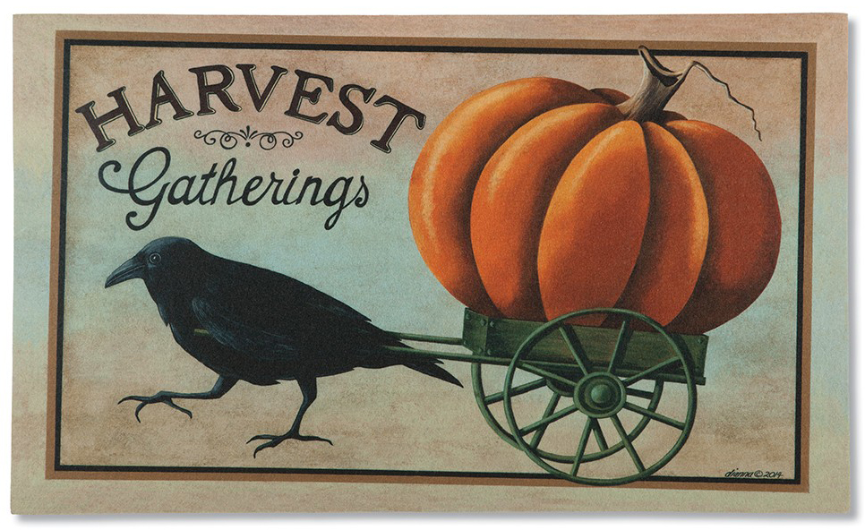 Harvest Gatherings Doormat