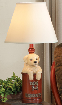 Dog Biscuits Lamp