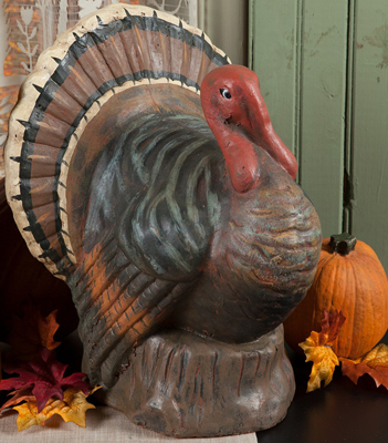 Large Turkey Sculpture