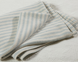 Freeport Ticking Stripe Blanket