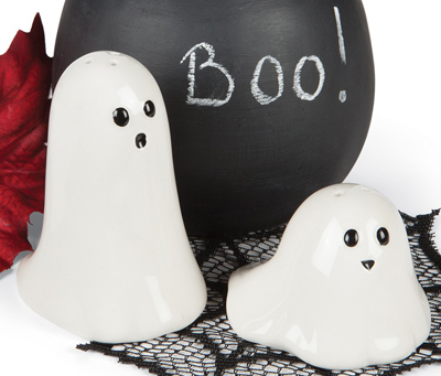 Ghost Salt & Pepper Shakers