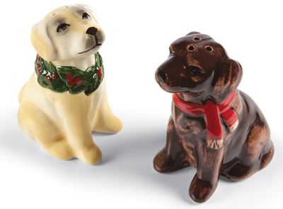 Holiday Lab Salt & Pepper Shakers