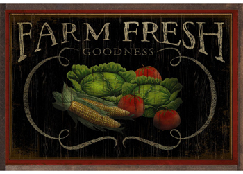 Farm Fresh Goodness Print