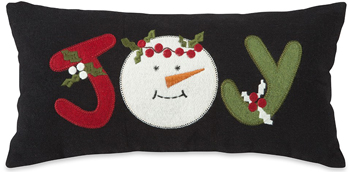 Joy Applique Pillow