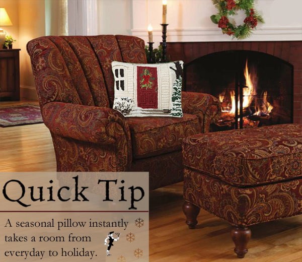 Quick Tip: Everyday to Holiday Pillows