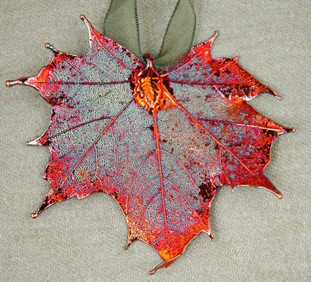 Sugar Maple Iridescent Ornament