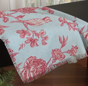 Ambrosia Bird Blanket Throw