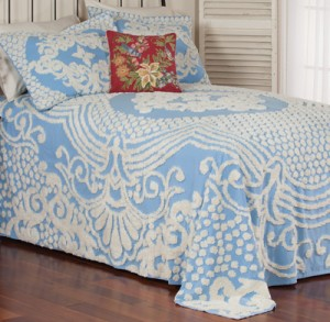 Frosty Chenille Bedding