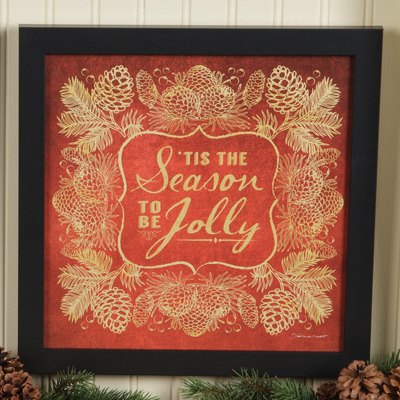Tis The Season Holiday Tidings Print