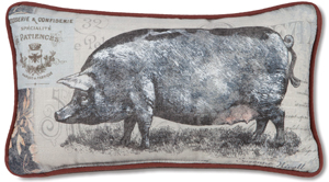 Farmhouse Friends Reversible Pillow