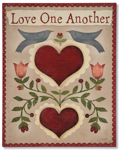 Love One Another Plaque