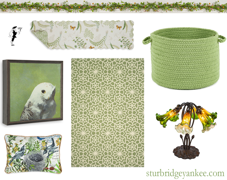 Pantone Greenery at Sturbridge Yankee Workshop