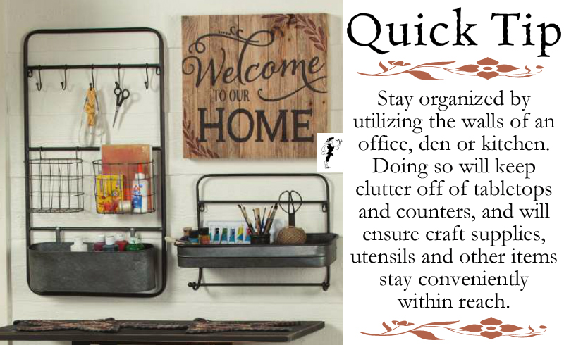 Quick Tip: New Year, New Home Organization Goals
