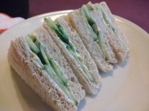 Cucumber Sandwiches (flickr user bob walker)
