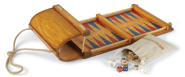 Toboggan Backgammon Game Board