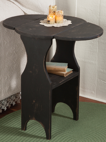 Butterfly Drop Leaf Accent Table