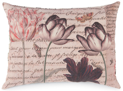 Dutch Tulips Mini Pillow