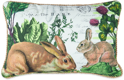 The Garden Hare Pillow