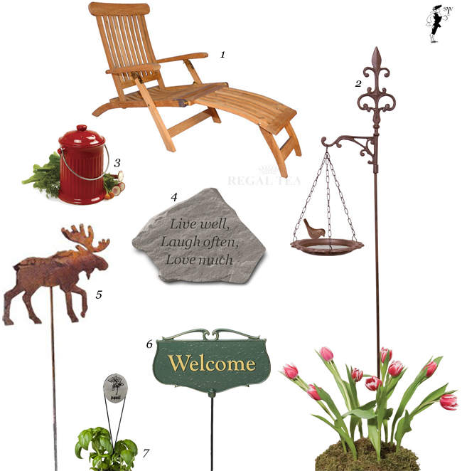 Garden Month Idea Board